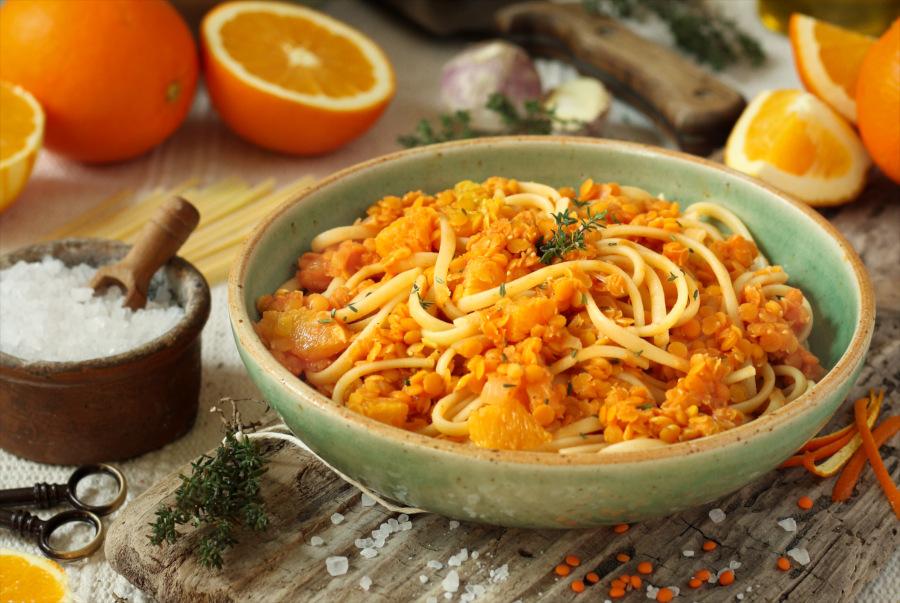 Rezept für Orangen-Pasta