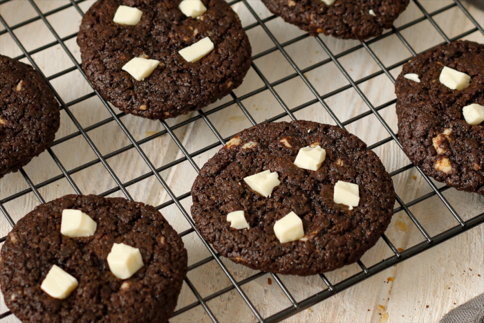 Weiße Schokolade Cookies