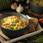 Pasta mit Ratatouille (vegan)