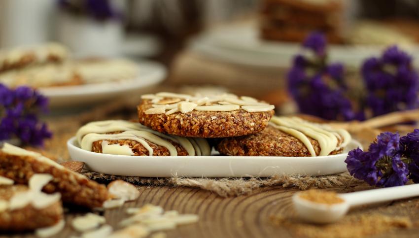 Mandel-Kokos-Kekse (vegan)