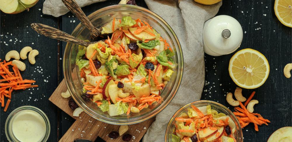 Möhre Apfel Salat